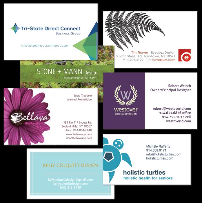 Portfolio business cards by Eyebuzz