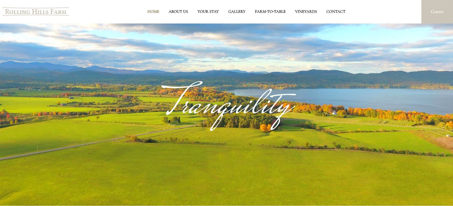 New York farm stay website