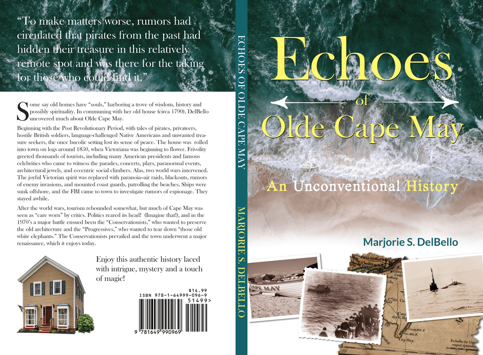 Echoes of Olde Cape May cover design by Tim Thayer