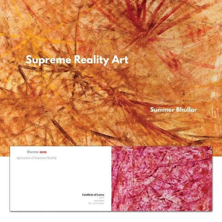 Summer Bhullar artist booklet