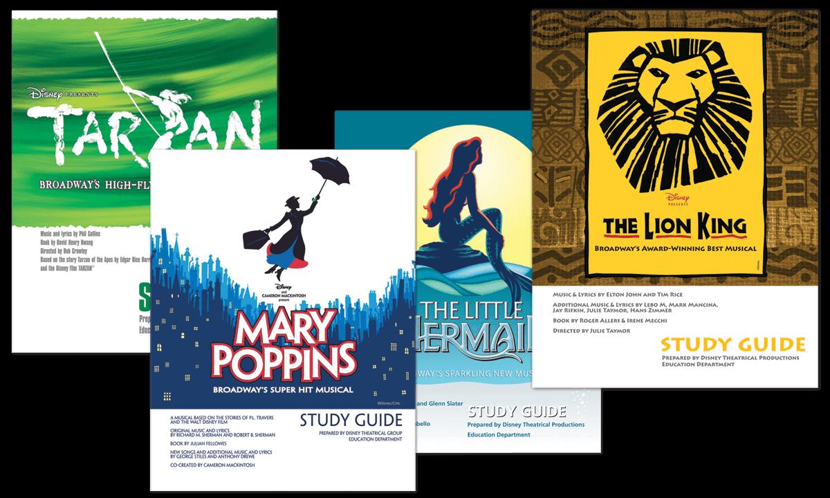 Disney on Broadway study guides
