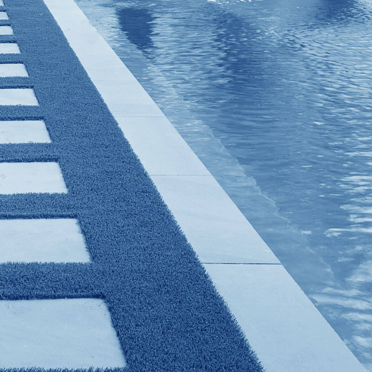 Pool and edging background image for Westchester webdesign company